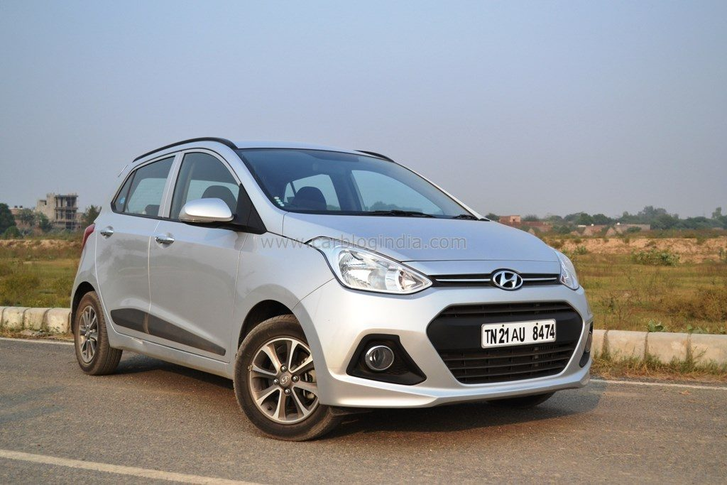 hyundai grand i10 diesel review and test drive video by car blog india. Black Bedroom Furniture Sets. Home Design Ideas