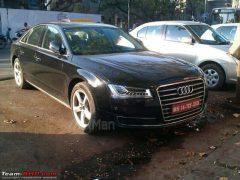2014 Audi A8 L Front Right Quarter