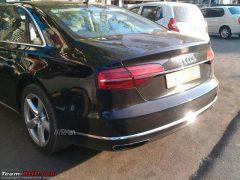 2014 Audi A8 L Rear Left