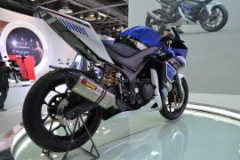 2014 Yamaha R25 Concept Rear Right Qaurter