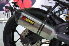 2014 Yamaha R25 Concept Exhaust
