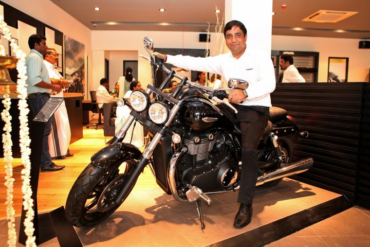 Mr Vimal Sumbly, MD, Triumph Motorcycles India on a Storm