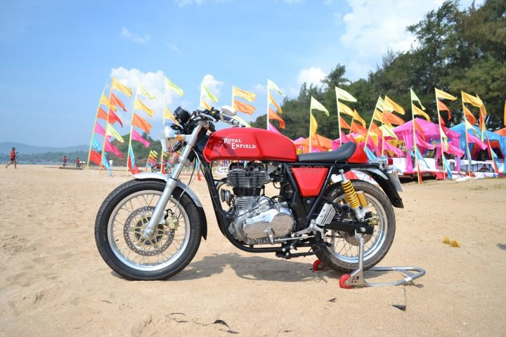 Royal Engield Continental GT Test Ride Review