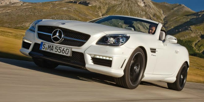 2014 Mercedes-Benz SLK 55 AMG Launched In India