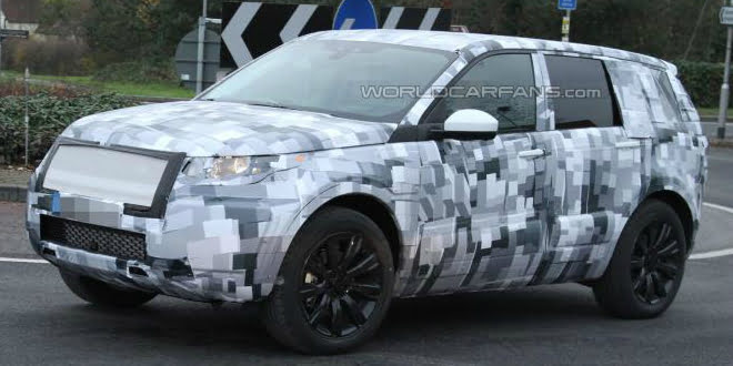 2015 Land Rover Freelander Spy Pictures And Details