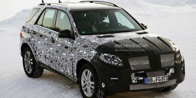 2015 Mercedes-Benz M-Class Spied Testing May Get A Major Revamp