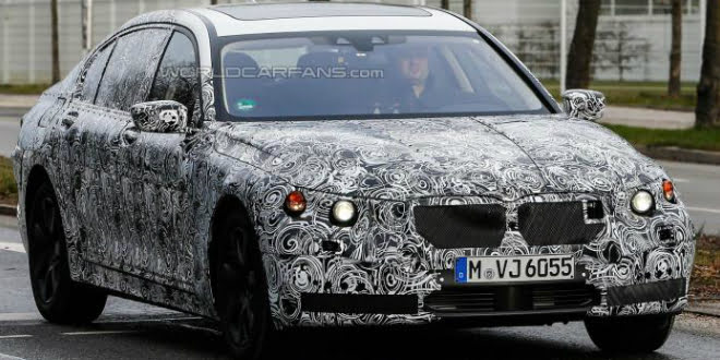 2016 BMW 7-Series Spied Testing In Germany