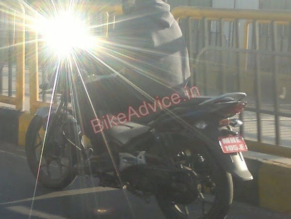 New Bajaj Discover Spy Shot