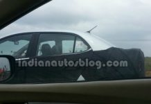 Hyundai Grand i10 Compact Sedan Spy Shot Featured Image