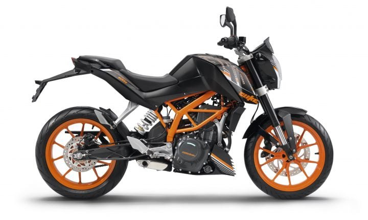 KTM 390 Duke Midnight Black