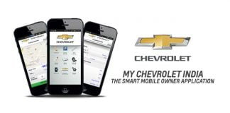 My Chevrolet India App Featured Image