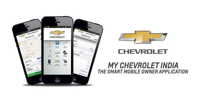 GM India Introduces New My Chevrolet India Smart Phone App