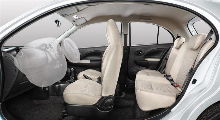 Nissan Micra Active Interior