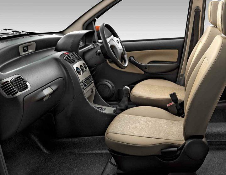 Tata Indica eV2 Interior Front Cabin
