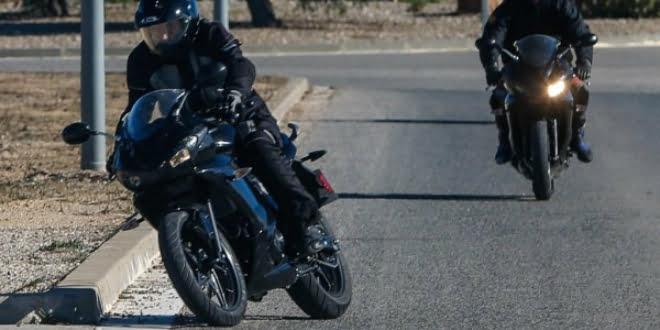 Triumph 250cc Sports Bike Spy Shot Featured Image