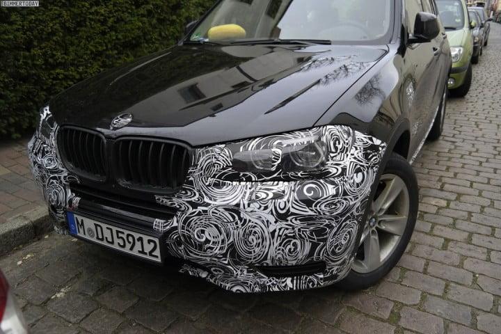 2015 BMW X3 Facelift Spied, Details Inside