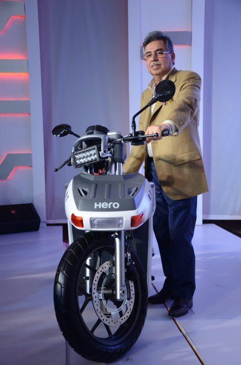 Hero RNT Diesel bike concept