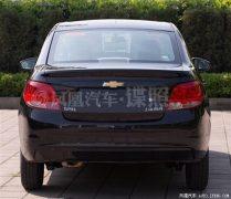 Chevrolet Sail Facelift Rear
