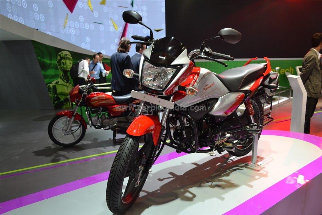 best 100cc bike in india Hero Splendor iSmart