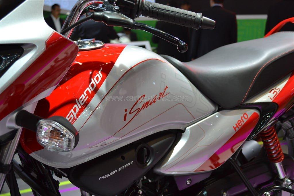 Hero splendor ismart launched price specification photos - Hero splendor ismart mileage per liter ...