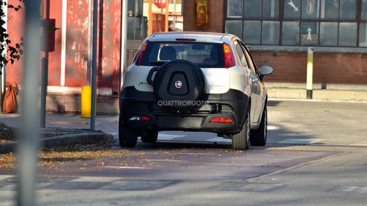 Fiat Punto Cross Spy Shot
