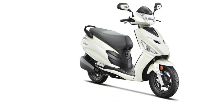 Hero Dash 110cc Scooter Revealed, To Rival Honda Activa