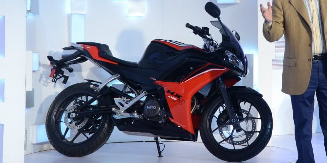 Bikes at Auto Expo 2018 - Hero HX250R