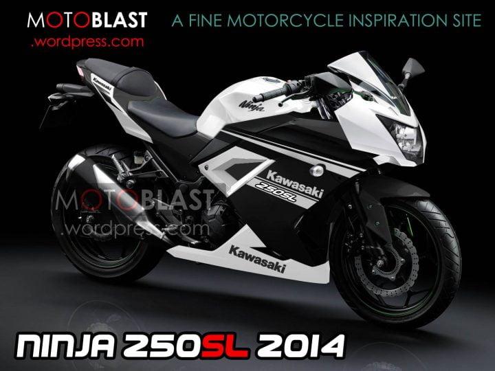 Kawasaki Ninja 250SL Rendering