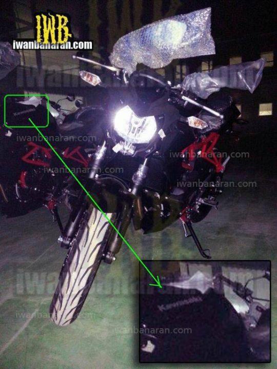 Kawasaki Ninja 250 Street-Fighter