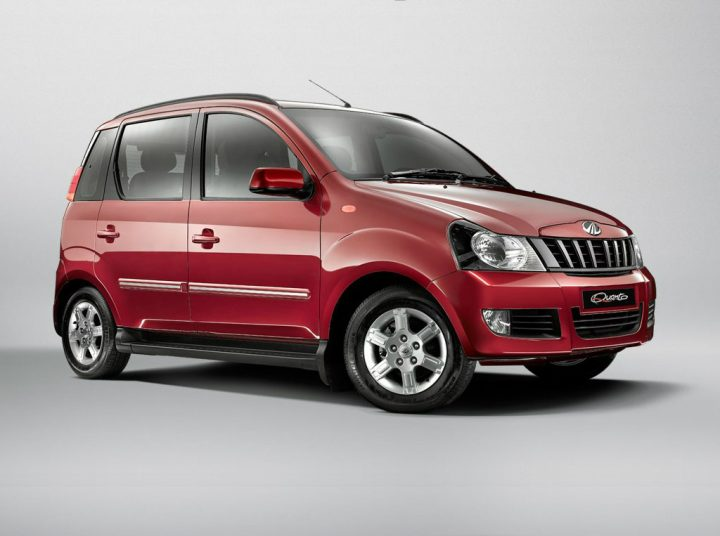 Mahindra Quanto Front Right Quarter