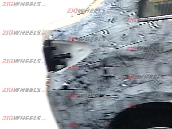 Tata Manza Compact Sedan Spy Shot Rear Fender