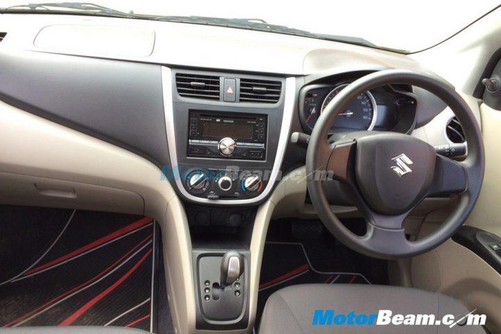 Maruti Suzukio Celerio Interior Dashboard