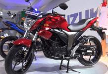 Suzuki Gixxer Front Left Quarter