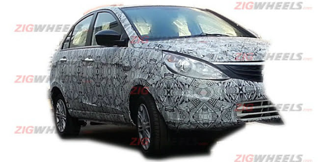Tata Manza Compact Sedan a.k.a Tata Zest To Be Unveiled Shortly