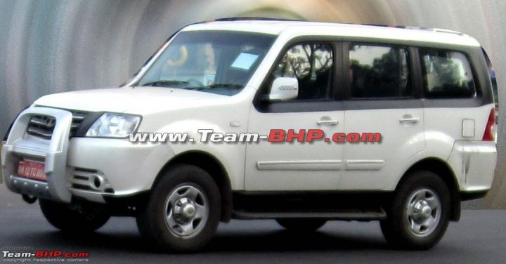 Tata Movus Spy Shot