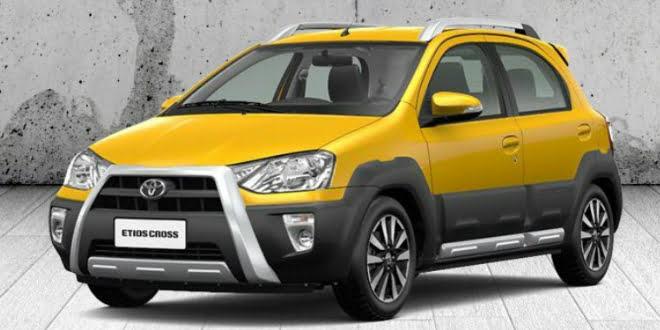 Toyota Etios Liva Cross India Spy Shot Expected Price