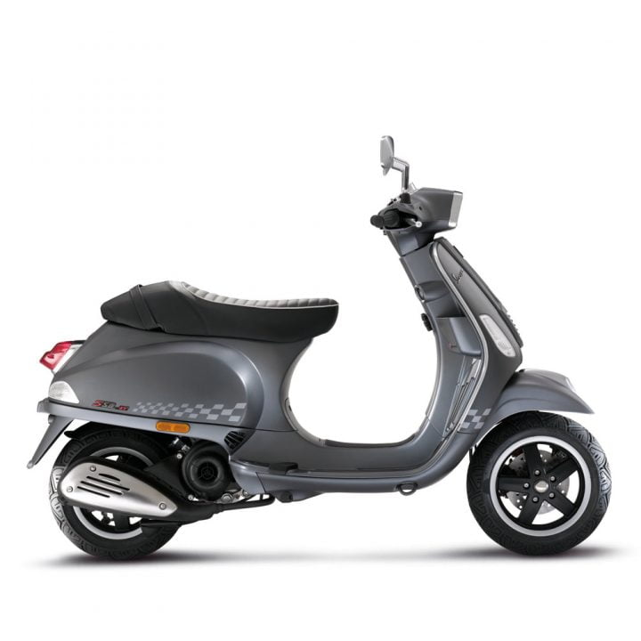 Vespa Sport India Side profile