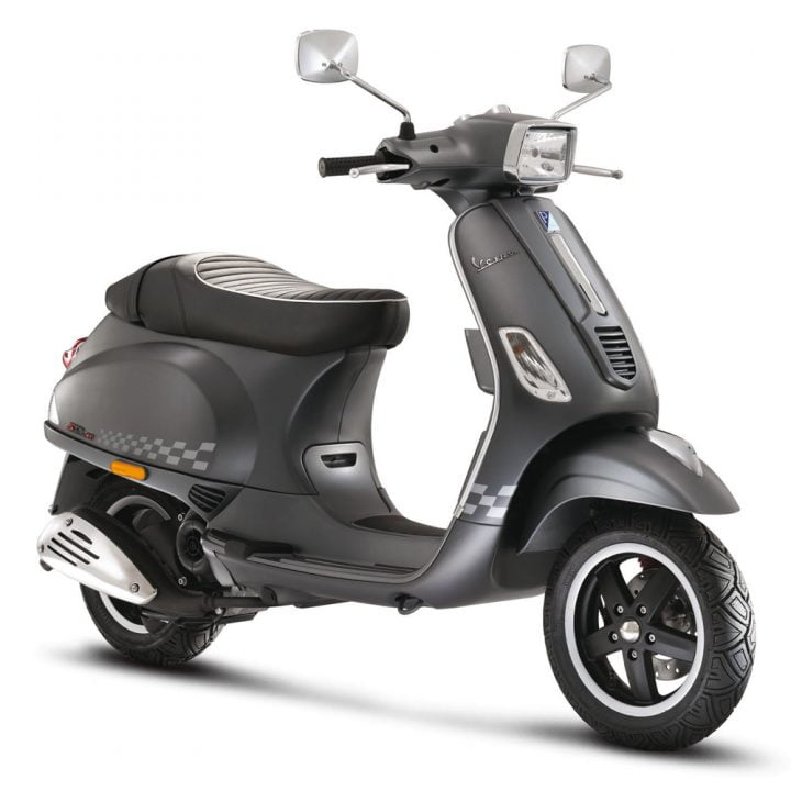 Vespa Sport India side view