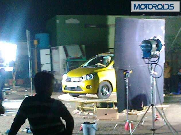 Maruti Suzuki Celerio Spy Shot Front Left Quarter