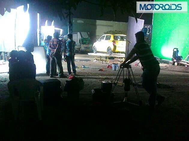 Maruti Suzuki Celerio Spy Shot Rear Left Quarter