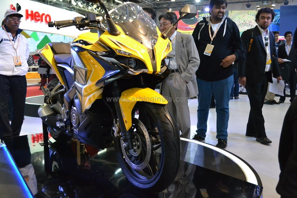 2018 Bajaj Pulsar RS 400 to be showcased at 2018 Auto Expo