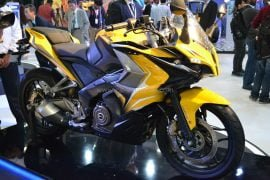 2014 Bajaj Pulsar 400 SS Front Right Quarter