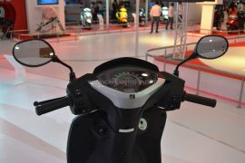 2014 Honda Activa 125 Handlebar and Instrument Cluster