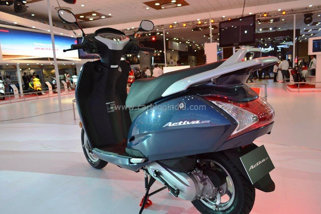 Honda Activa Models 2014 2014 Honda Activa 125 Rear