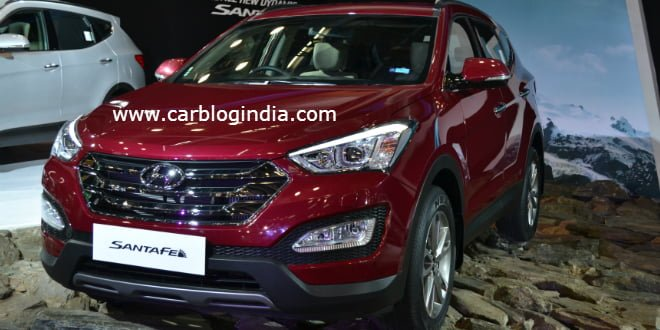 2014 Hyundai Santa Fe India Price, Pictures, Specifications