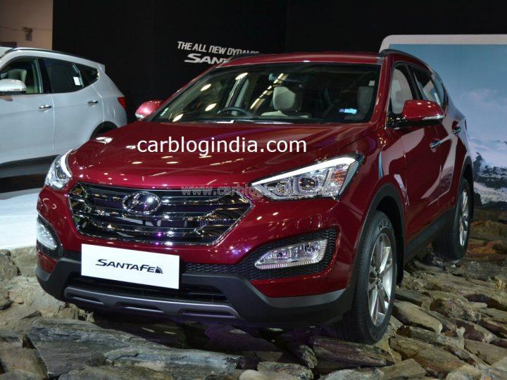 2014 Hyundai Santa Fe Front Left Quarter