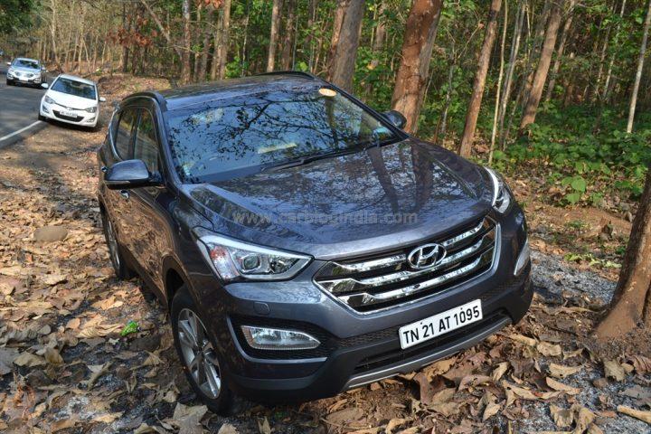Best Automatic SUV in India - Hyundai Santa Fe