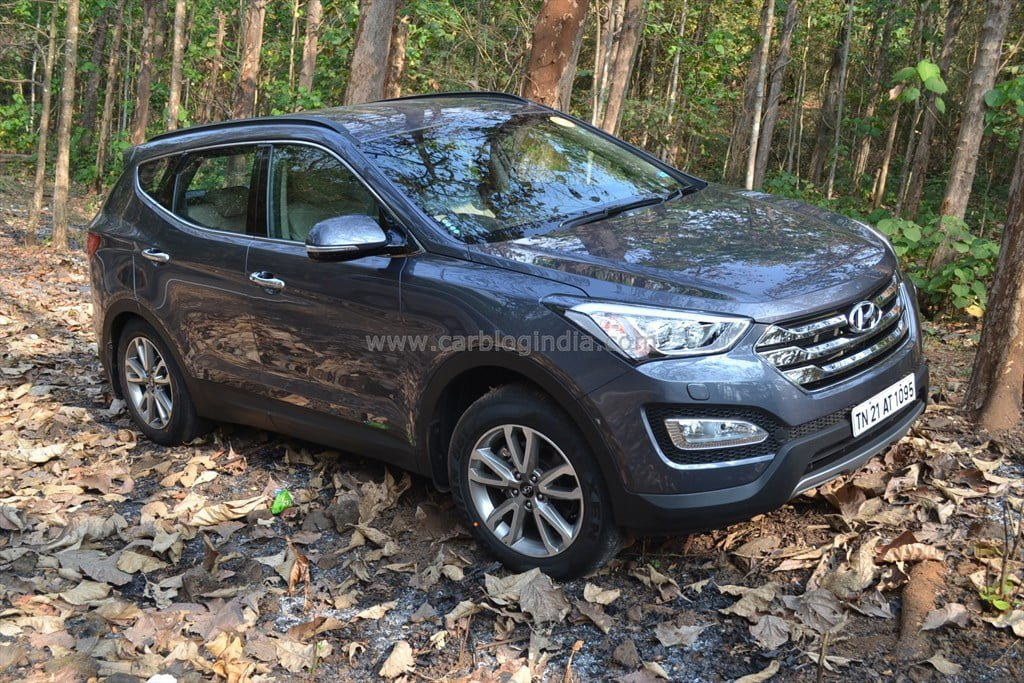 2014 hyundai santa fe review 2 carblogindia. Black Bedroom Furniture Sets. Home Design Ideas