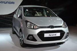 2014 Hyundai Xcent Front Right Quarter