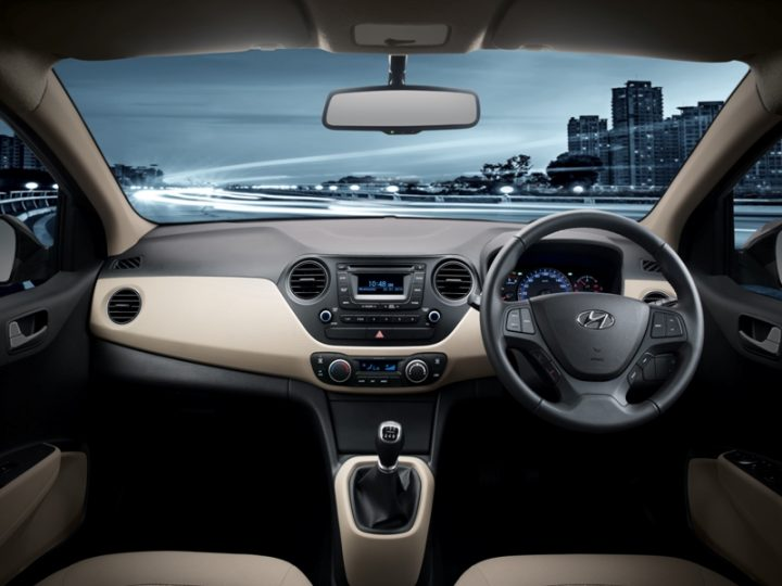 2014 Hyundai Xcent Interior Dashboard